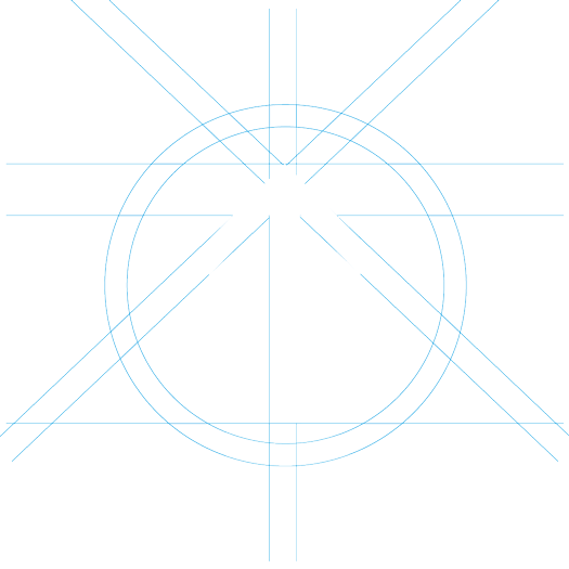 Animation from arrow to Rayon's logo symbol - frame 2